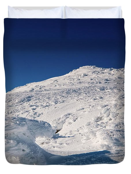 Rime And Snow, And Mountain Trolls. Duvet Cover