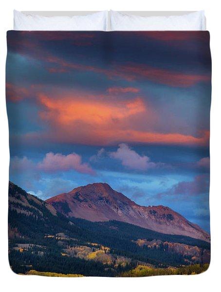 Rising Color  Duvet Cover