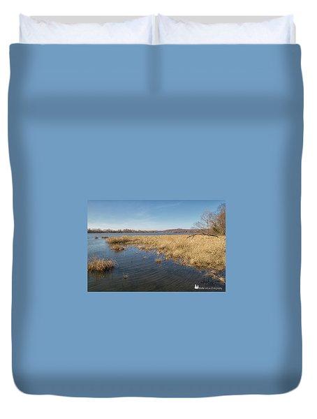 River Grass Duvet Cover