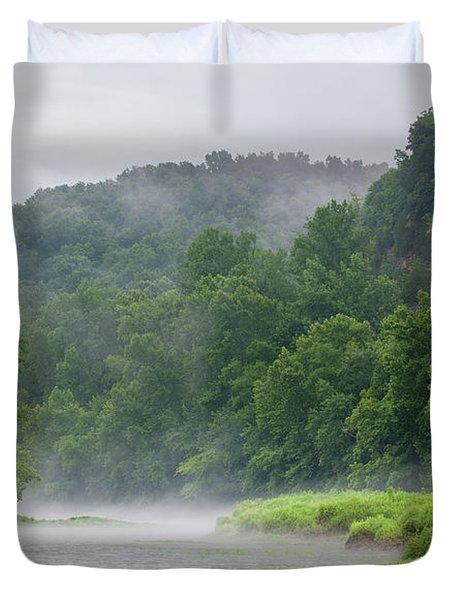 River Mist Duvet Cover