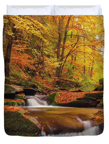 River Rapid Duvet Cover