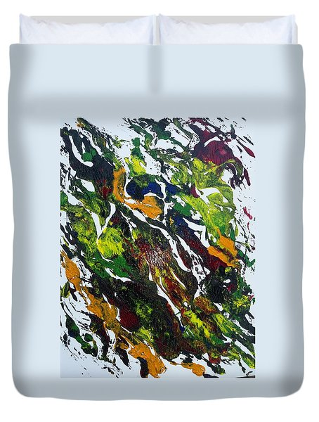 Rivers And Valleys Duvet Cover
