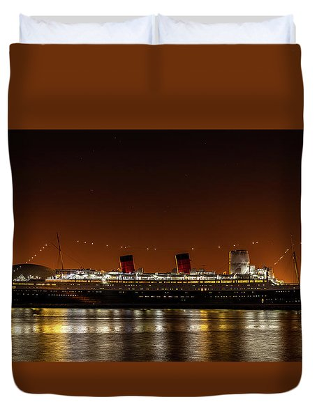 Rms Queen Mary Duvet Cover