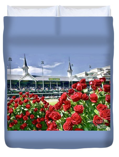 Road To The Roses Duvet Cover