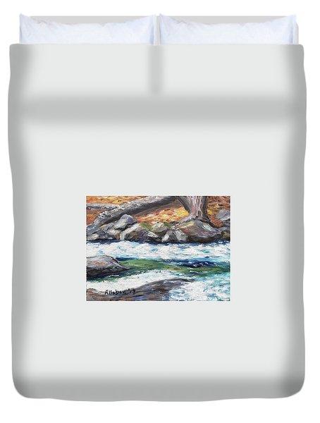 Roaring Brook Duvet Cover