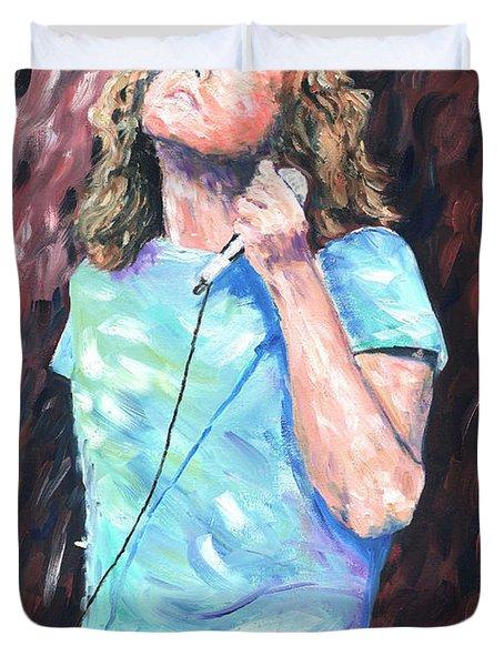 Robert Plant Duvet Cover
