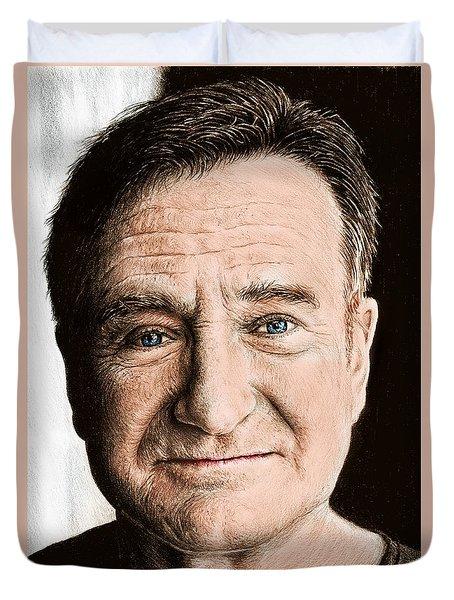 Robin Williams Colour Ver 2 Duvet Cover
