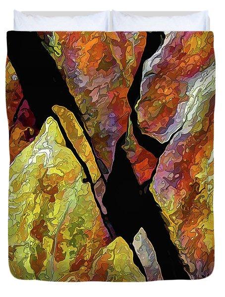 Rock Art 17 Duvet Cover
