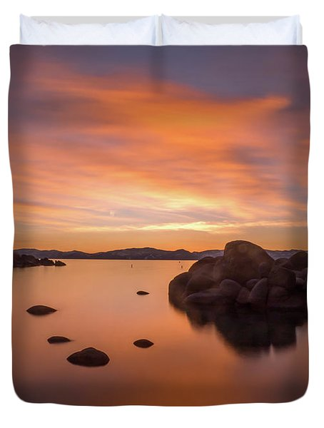 Rock Balance Duvet Cover