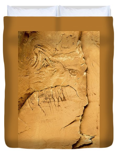 Rock Face Duvet Cover