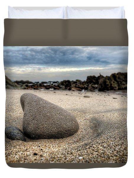 Rock On Beach Duvet Cover