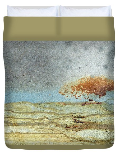 Rock Stain Abstract 1 Duvet Cover