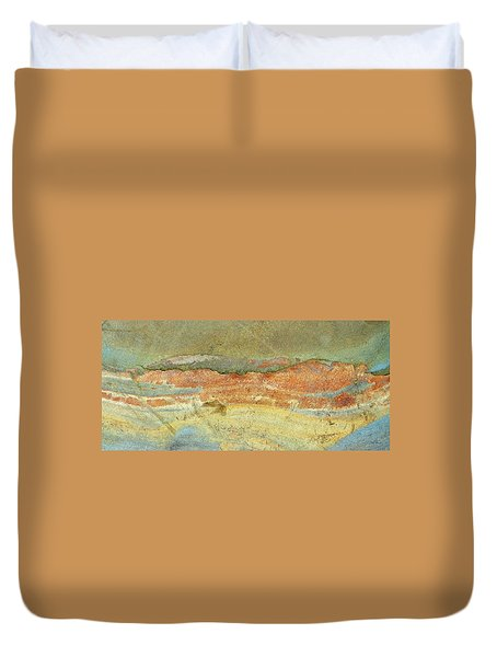 Rock Stain Abstract 2 Duvet Cover