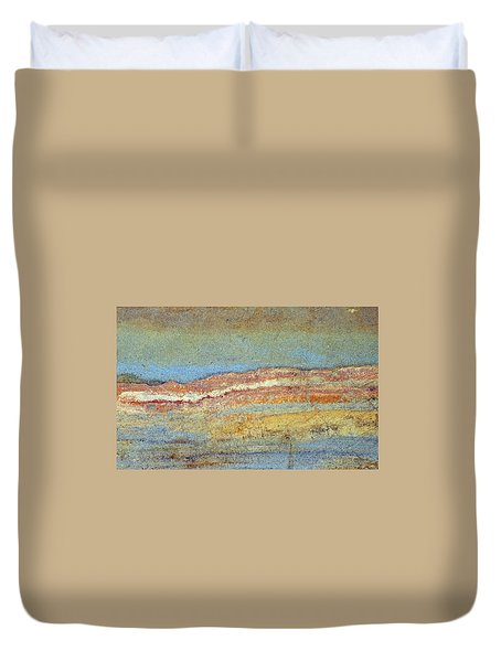 Rock Stain Abstract 3 Duvet Cover