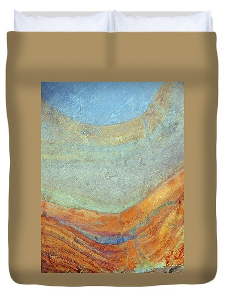 Rock Stain Abstract 7 Duvet Cover