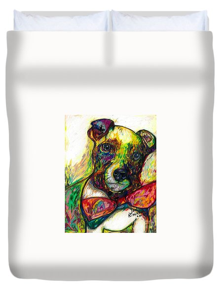 Rocket The Dog Duvet Cover