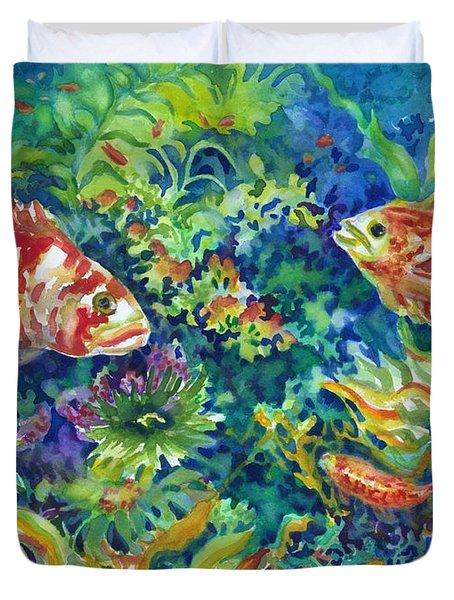 Rockfish Duvet Cover