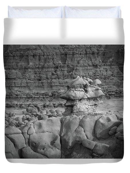 Rocky Desert Formation Duvet Cover