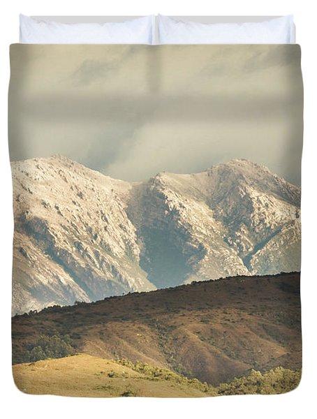 Rocky Rural Region Duvet Cover