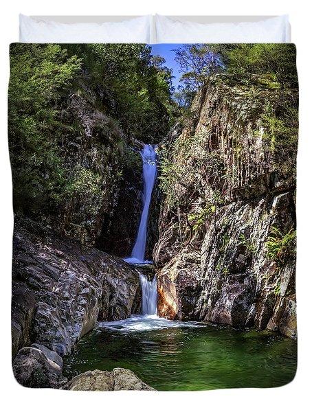 Rollalson Falls Duvet Cover