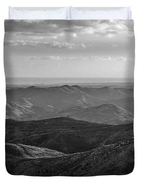 Rolling Mountain Duvet Cover