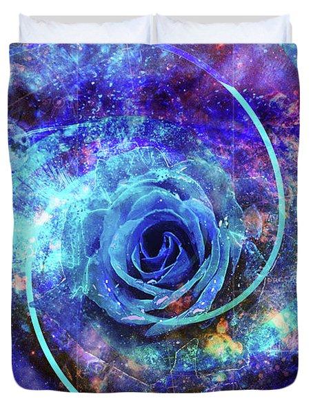 Rosa Azul Duvet Cover