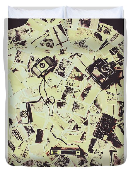Round Trips Duvet Cover