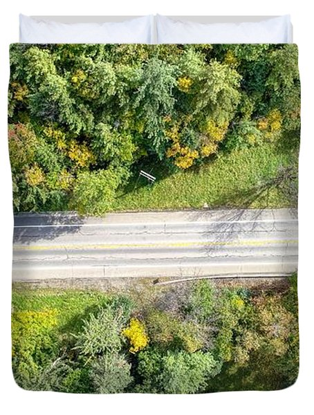 Route 54 Duvet Cover