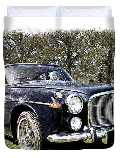 Rover 3.5 Coupe Duvet Cover