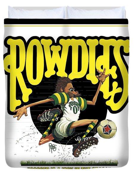 Rowdies Old School Duvet Cover