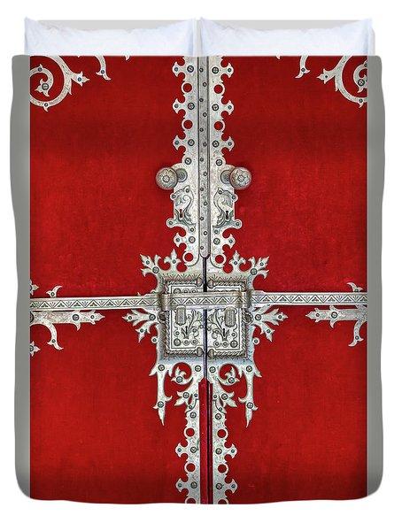 Royal Door Of Sintra Duvet Cover