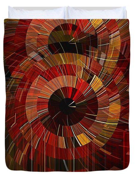 Royal Fireworks Duvet Cover