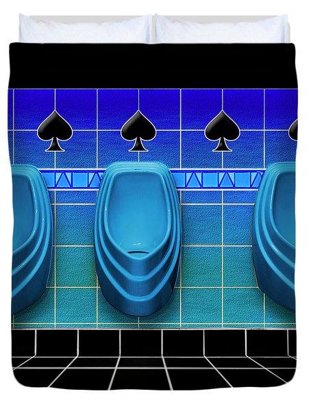 Royal Flush Duvet Cover
