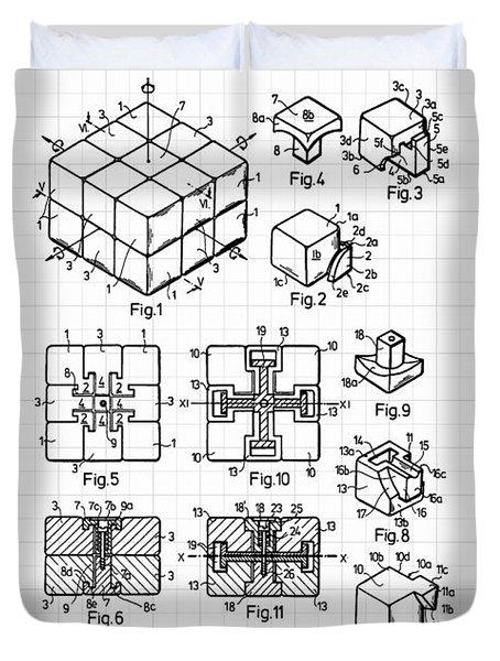 Rubik Cube Duvet Covers