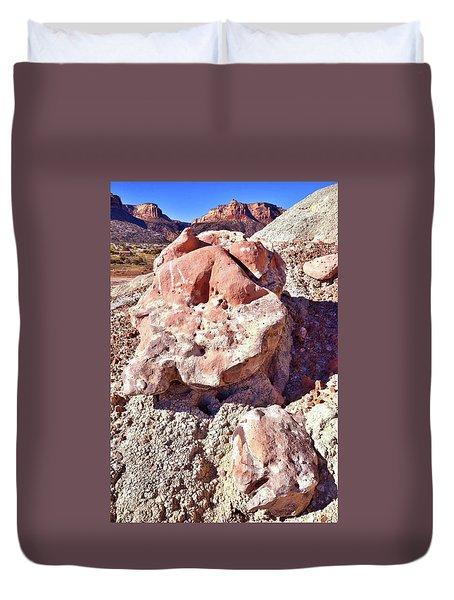 Ruby Mountain 103 Duvet Cover