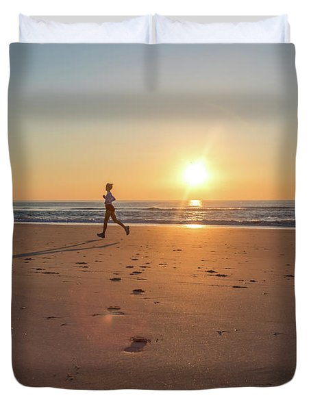 Run Free Duvet Cover