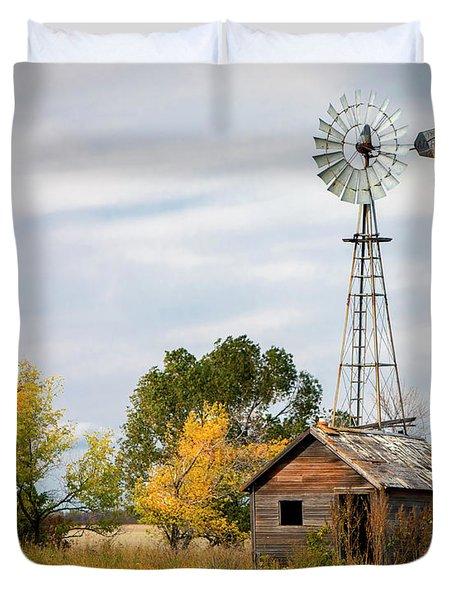 Rural North Dakota Duvet Cover