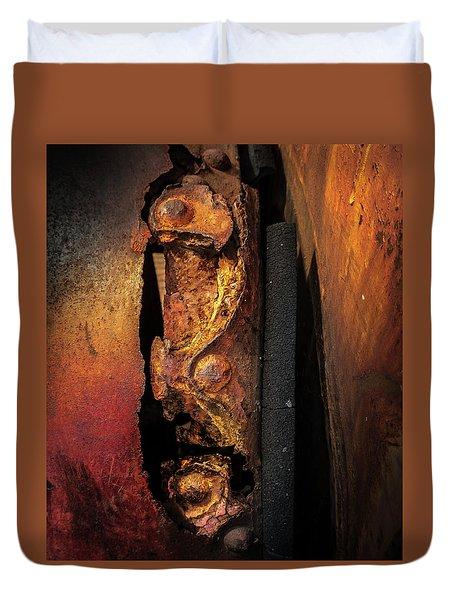 Rusty Colours Duvet Cover