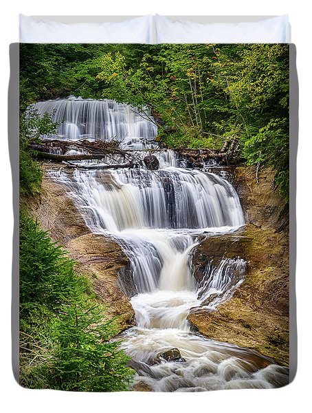 Sable Falls Duvet Cover