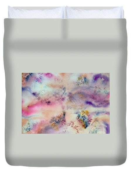 Sacred Flow Duvet Cover