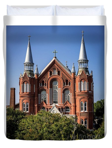 Sacred Heart Cultural Center - Augusta Ga Duvet Cover