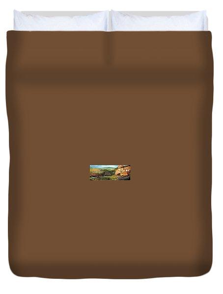 Sailbus Flight Home Duvet Cover