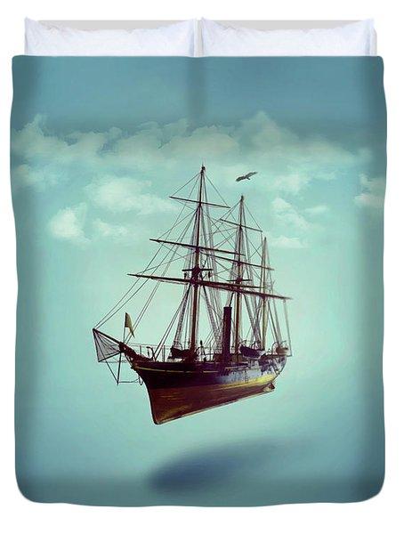 Sailed Away Duvet Cover