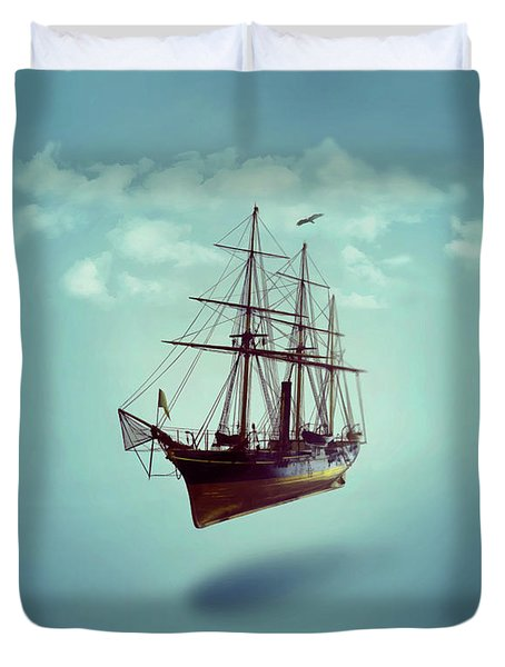 Sailed Away Duvet Cover