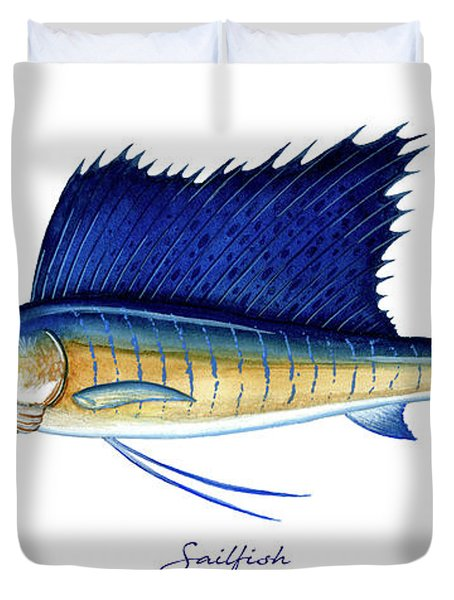 Sailfish Duvet Cover