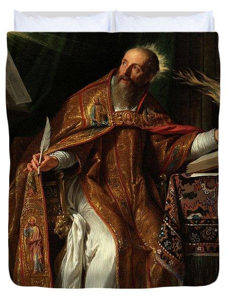 Saint Augustine, 1645-1650 Duvet Cover