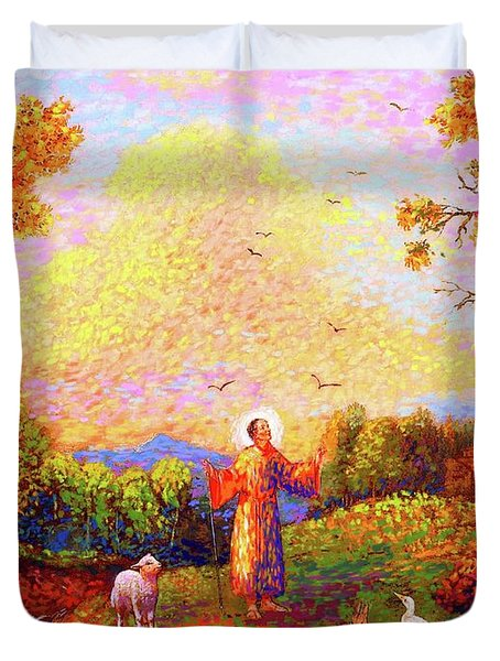 Saint Francis Of Assisi Duvet Cover