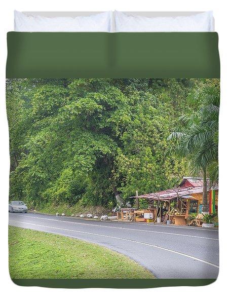 Saint Mary, Jamaica Duvet Cover