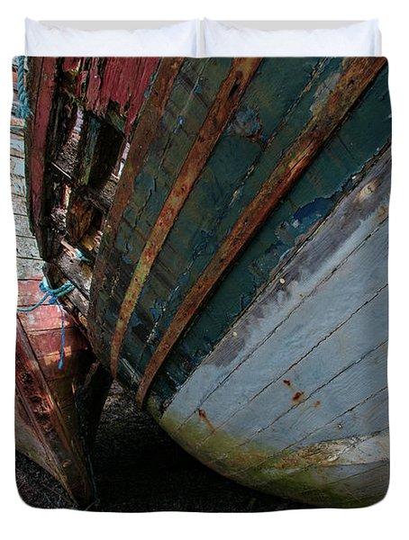 Salen Wrecks Duvet Cover