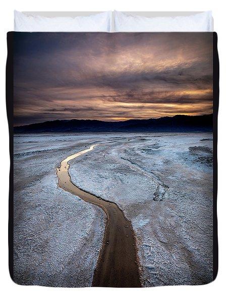 Salt Creek Flats IIi Duvet Cover